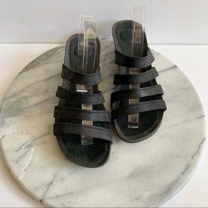 """TEVA """"ysidro"""" slide wedge sandals"""